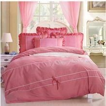 sevgili prenses Kore çiçek pamuk cilt dört adet yatak çift kişilik yatak suite(China (Mainland))