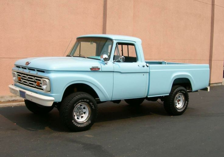 Airstream For Sale Bc >> 1964 baby blue Ford truck | Somethin Bout A Truck | Pinterest | Ford trucks, Ford and Dream cars
