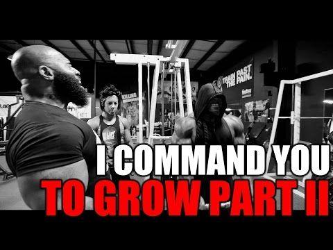 I COMMAND YOU TO GROW PART 2: CT Fletcher + Dana Linn Bailey + Kai Greene - YouTube