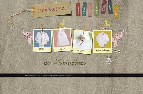 granamau.com ecommerce website