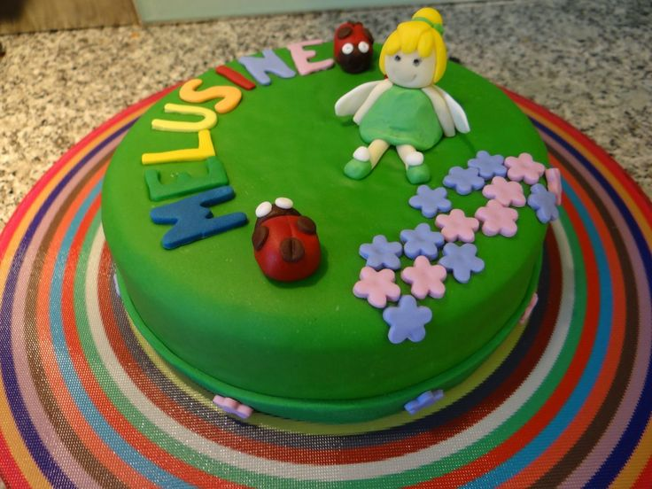 Chibi-tinkerbell cake /petit gâteau fée clochette