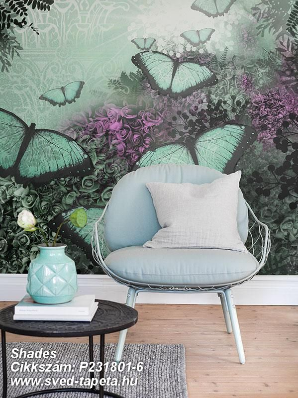 The secrets of the rain forest give wings to beautiful dreams. ☞ #wall #decor #wallpaper #design #tapeta #foto #poster