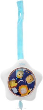 """Smoby Музыкальная игрушка-подвеска Ночные Мелодии цвет белый голубой  — 964р.  Детская музыкальная игрушка-подвеска """"Ночные Мелодии"""" подходит для детей от рождения. Эта развивающая игрушка положительно влияет на нервную систему малыша, успокаивая его нежной мелодией колыбельной. Легко крепится на любой конструкции детской кроватки или манежа при помощи текстильного ремешка на липучке. Чтобы включить игрушку достаточно потянуть за шнурок со звездочкой. Подвеска механическая - для работы…"""