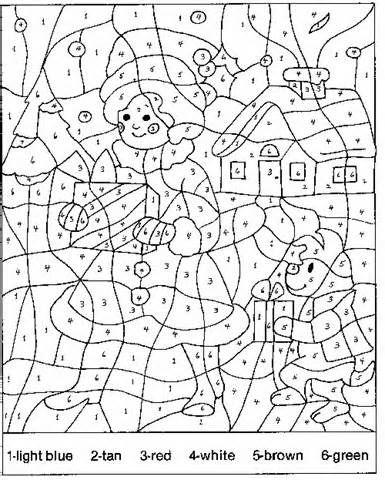 Difficult Coloring Pages For Adults Christmas : 252 best coloriage par numéro images on pinterest