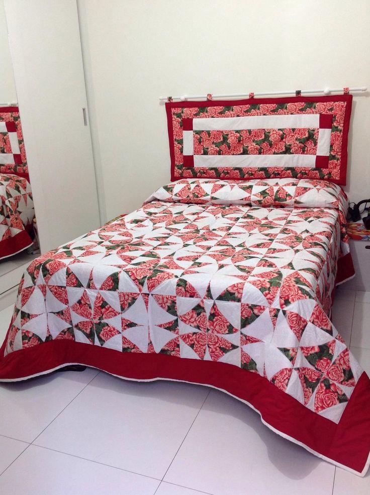 Cabeceira de cama e colcha, Inês Marques