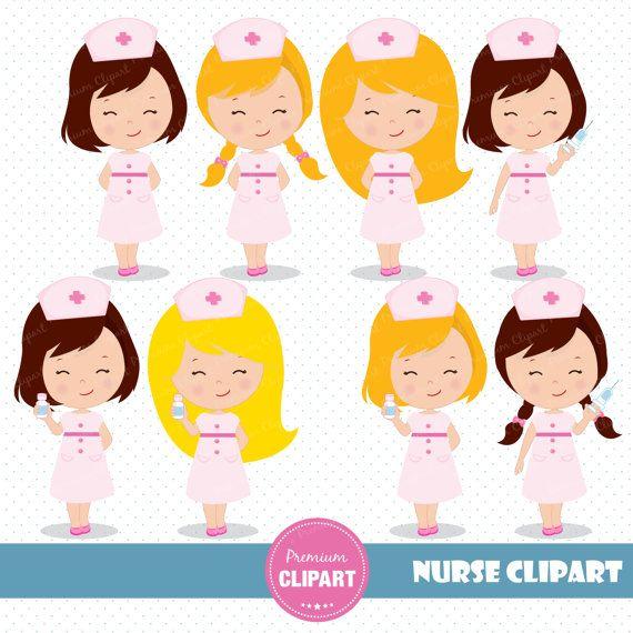80% OFF SALE verpleegkundige clipart van PremiumClipart op Etsy