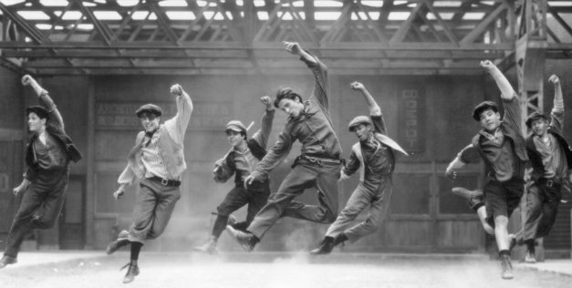 From the movie, Newsies!