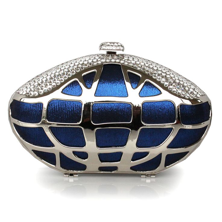 Glaring Silk And Metal Handbag With Hollow Out Element With Cheapest Price Price $74.98 Offered By Prinkko.