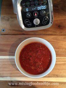 Gnocchi with Prosciutto and Basil Tomato Sauce in the Cuisine Companion