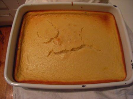 South African Crustless Milk Tart
