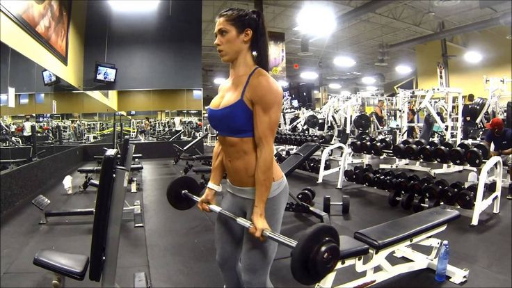 Bella Falconi - #wwbfd (Biceps Day)
