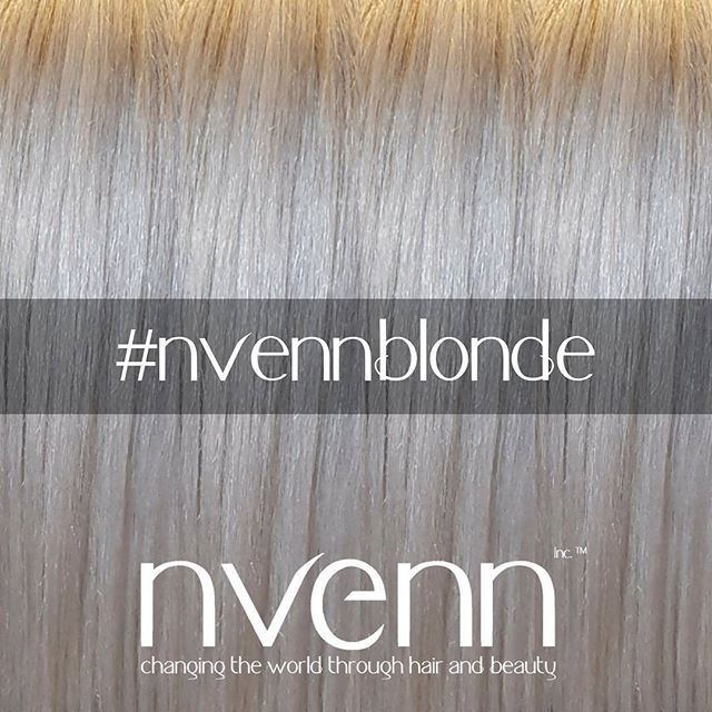 we love blonde hair! in fact we pride ourselves on being #blondehairspecialists.    when you think blonde hair, think nvenn.   #nvennblonde #nvenninc #yeghair #yychair #bbloggers #salonpro