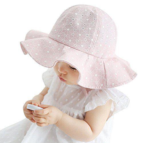 Summer Kids Baby Boy Girl Cap Cotton Denim Infant Beach Sun Wide Brim Bucket Hat