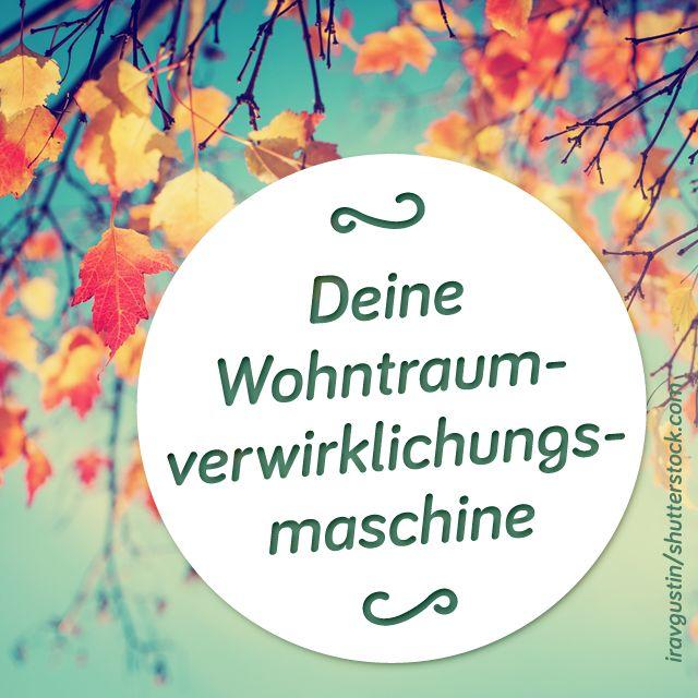 Happy Herbst! Deine #Wohntraumverwirklichungsmaschine