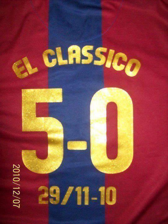 Fani FC Barcelony pamiętają wynik El Classico w 2010 roku • Barcelona pokonała Real Madryt 5:0 • Wejdź i zobacz zabawny obrazek >> #fcbarcelona #barca #barcelona #football #soccer #sports #pilkanozna #funny