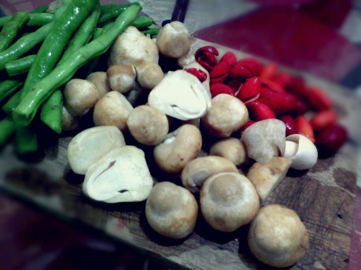 Mushroom and Bean