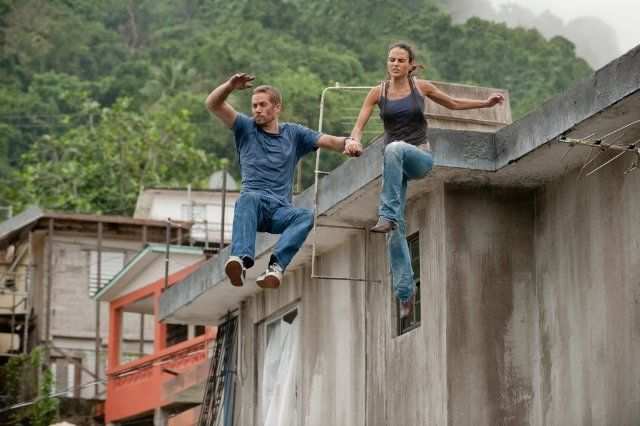 Still of Jordana Brewster and Paul Walker in Fast  Furious 5