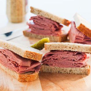 Sandwich de pastrami