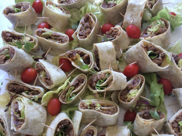 Wraps with Masala Steak.