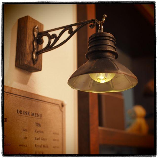 ウォールライト風/セリア/サビサビ/サビ萌え隊/ペットボトル/電球型LEDライト…などのインテリア実例 - 2015-08-13 19:54:10 | RoomClip(ルームクリップ)