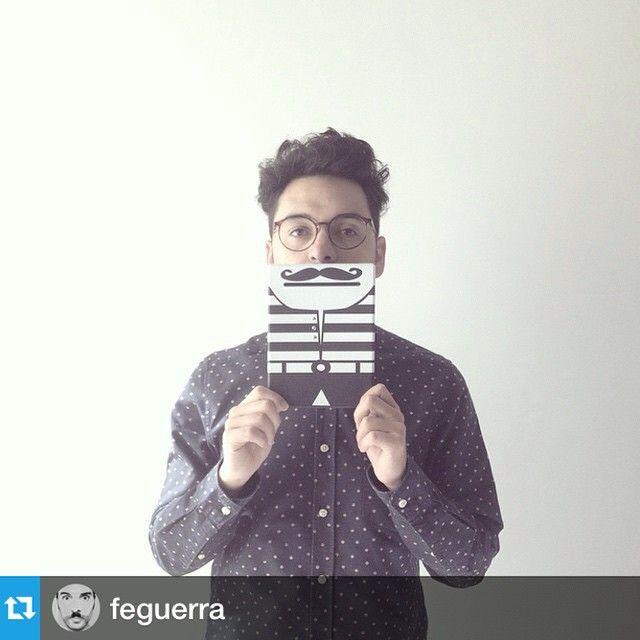 #Repost @feguerra・・・#billegas con b de bigote y de billete