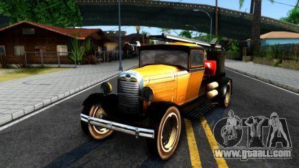 Bolt Utility Truck From Mafia para GTA San Andreas