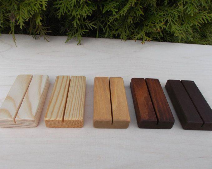10 mariage Place porte-cartes, porte Menu, porte noms, titulaire de la carte de place bois, décoration de mariage, rustique