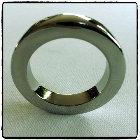 Lady Kink - Heavy Duty Steel Cock Ring R 350.00  This gorgeous heavy duty, stainless steel cock ring is simple with an understated style.