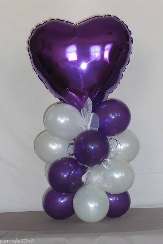 New engagement wedding balloon decoration table display
