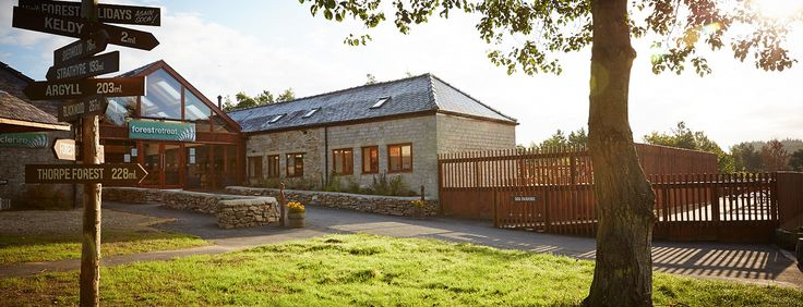 The #ForestRetreat at Cropton #NorthYorkMoors - the hub of all activity on our holiday park. #ForestRetreat #UKgetaway Self Catering Cabin & Lodges in Cropton, Scarborough 2015/2016 - Forest Holidays
