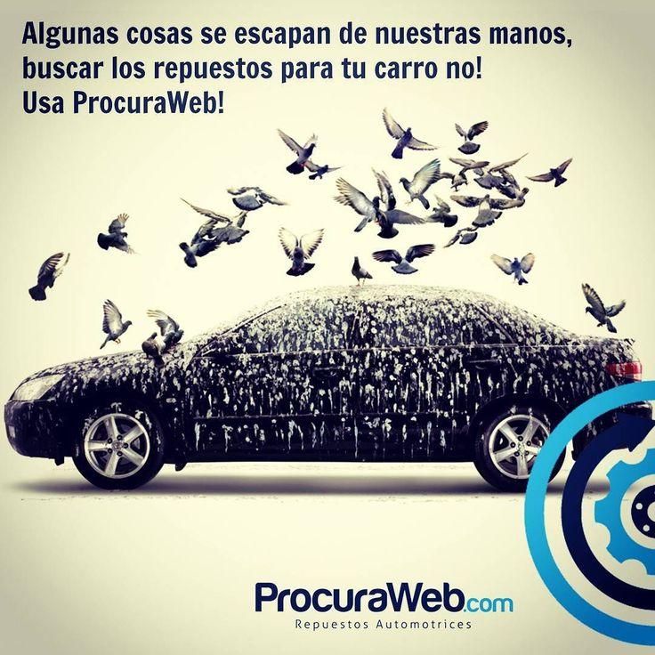 Regístrate solicita los #repuestos que necesitas para tu #vehículo y recibe cotizaciones de cientos de #proveedores especializados a nivel nacional. @ProcuraWeb seleccionará la mejor cotización considerando #Precio #Calidad #Disponibilidad y #Reputación del #proveedor!  ProcuraWeb.com es la forma fácil de ubicar repuestos para tu vehículo.  Alguien tiene el repuesto que tú buscas! alguien busca el repuesto que tú tienes!  #BMW #Chery #Chevrolet #Chrysler #Dodge #Fiat #Ford #Geely #GreatWall…