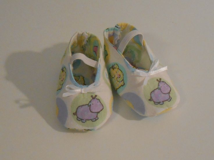 Baby Shoes Hippo Nursery Print by AllThingsNicebyDonna on Etsy, $5.00