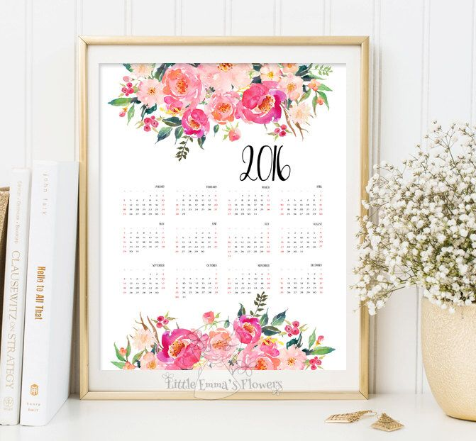 Printable Calendar 2017 yearly