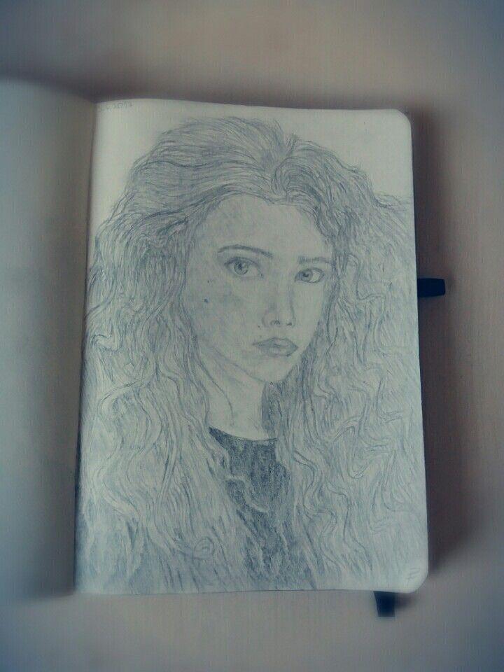 Random Girl Drawing  (i had an in