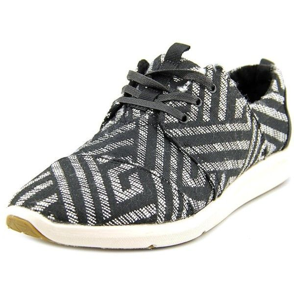 Toms Del Rey Women Sneakers (€41) ❤ liked on Polyvore featuring shoes, sneakers, black tribal, tribal print shoes, toms sneakers, synthetic shoes, tribal shoes and black sneakers