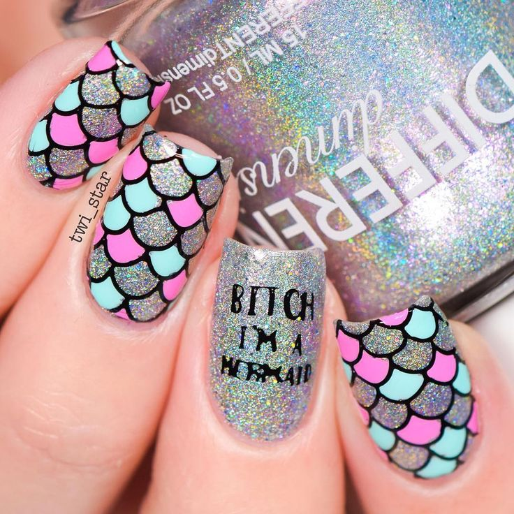 Using my mermaid stamping plate with Bundle Monster! Get it here! https://www.amazon.com/Bundle-Monster-Blogger-Collaboration-Stamping/dp/B01MEGP73G/ref=as_li_ss_tl?s=beauty&ie=UTF8&qid=1483892844&sr=1-1&keywords=bundle+monster+blogger+collaboration&linkCode=ll1&tag=twistar-20&linkId=bc1cc820711ea5d5f8cae24b107526cd