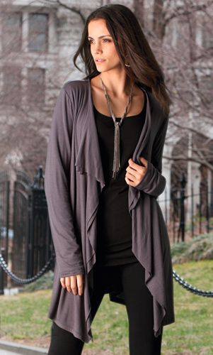 Drapey Cardigan | Tall Women's Clothes, Ladies Clothing & Apparel by Long Elegant Legs