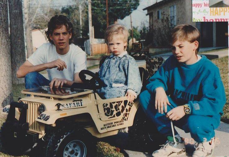 Paul, Cody y Caleb Walker