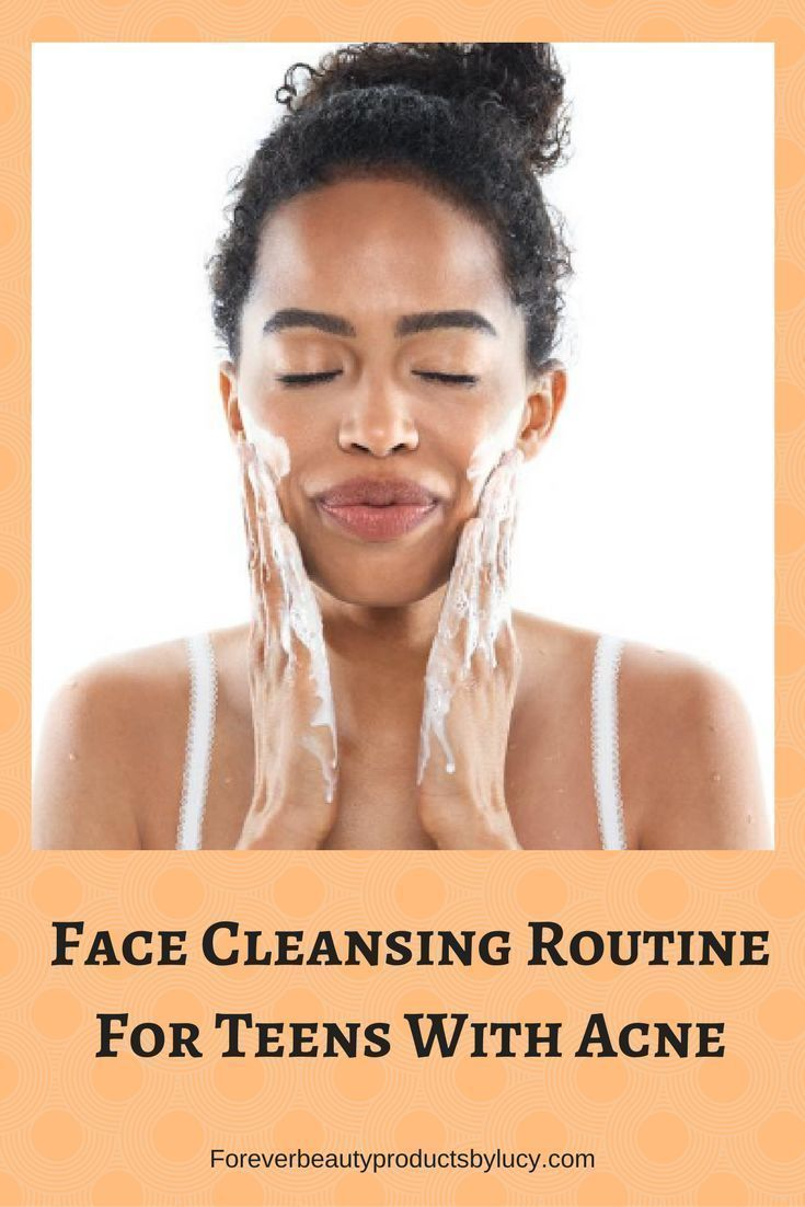 Best face cleansing routine for teens with mild to severe acne. Here you will find the best treatment teen acne for boys & girls ages 13-19. Also get informed of why do teens get acne and best skin care for teens. Get a daily face cleansing routine and the best skin care for teens. Get step by step on how to properly clean your face.  Foreverbeautyproductsbylucy.com #skincareroutine #bestacnetreamentsforteens