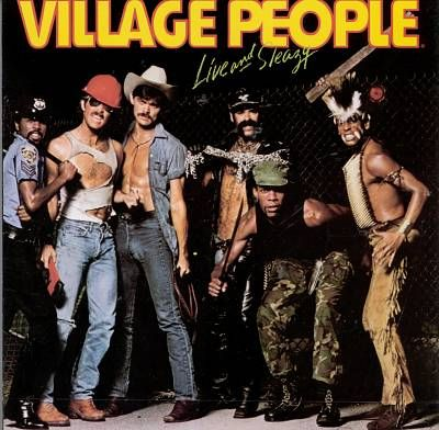 The Village People Live Amp Sleazy 1979 Stuff I Have