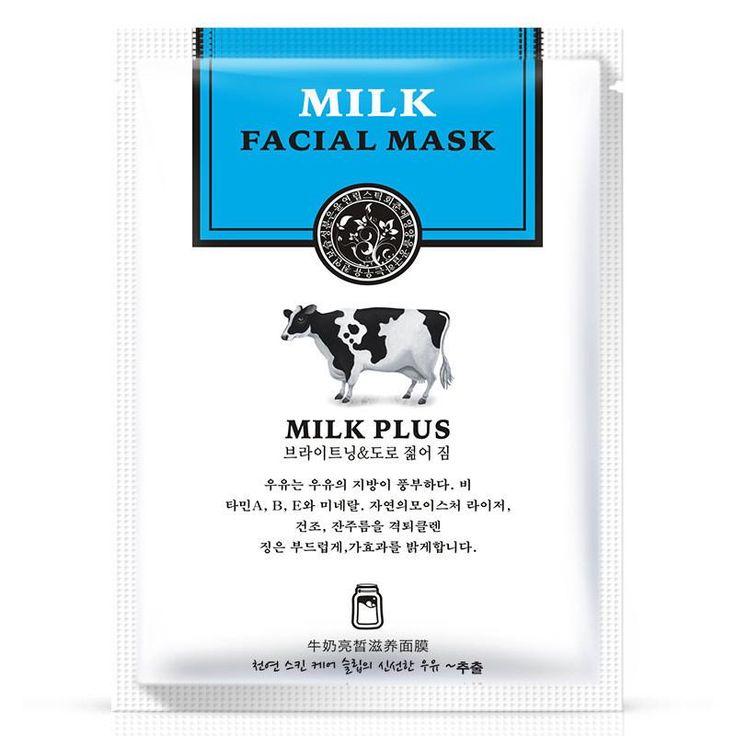 Milk silk Shrink pores Facial Mask