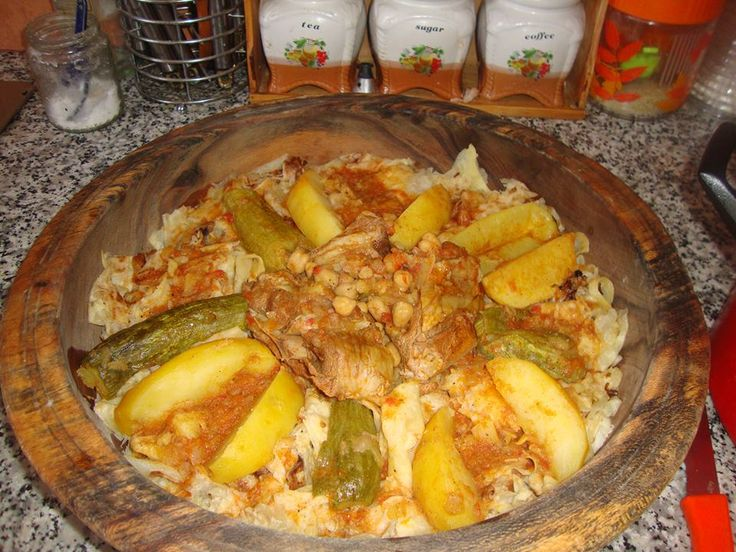 Chekhchoukha biskria algerian cuisine pinterest for Algerian cuisine