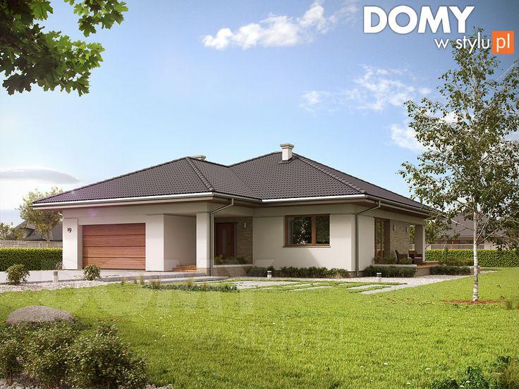 Projekt domu Ariel 3 - wizualizacja frontowa