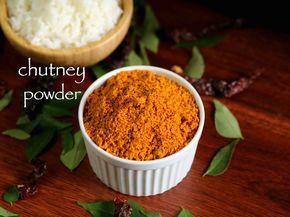 chutney powder recipe, chutney pudi, gunpowder with step by step photo/video. spiced lentil powder as condiment to enhance taste for steamed rice/idli/dosa.
