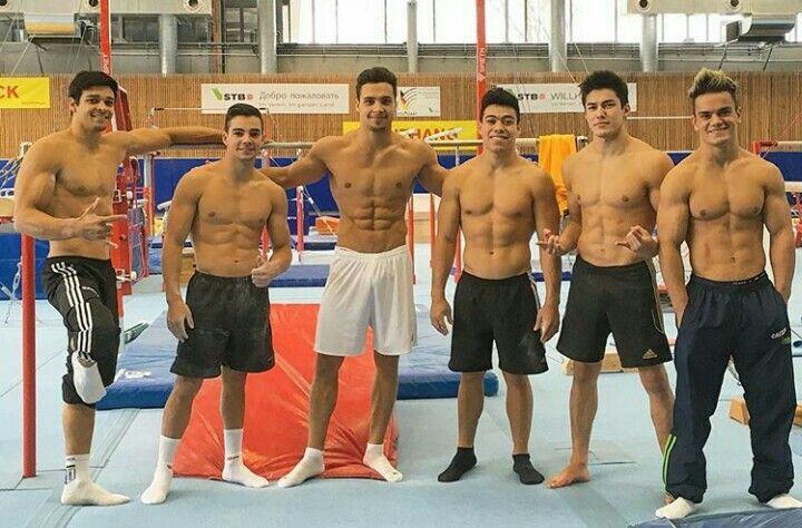 Francisco Barretto, Lucas Bitencourt, Petrix Barbosa, Sergio Sasaki, Arthur Nory e Caio Sousa