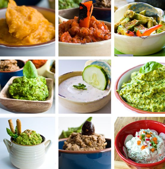 Skinny dips. 10 Veggie dips to try with your kids.