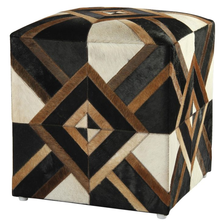 Mid-Century,Rustic,Southwestern Ottomans: Kick up your feet and rest them on top of one of these ottomans. Ottomans can add storage and a footrest to chairs that do not recline. Free Shipping on orders over $45!