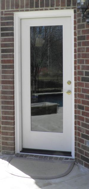Exterior full glass door remodel ideas mom 39 s house for External door with window