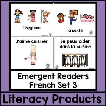 Emergent Readers French Set 3