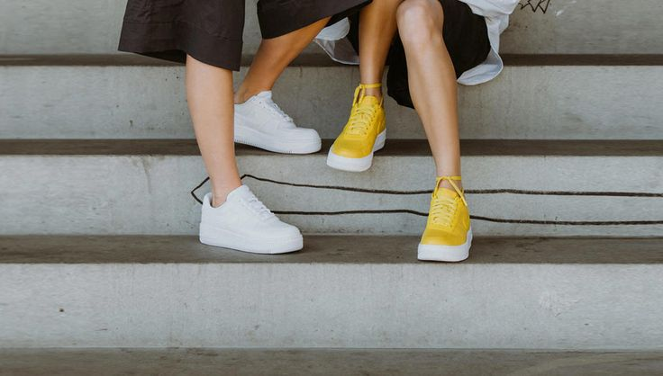 """Sneakers women - Nike Air Force 1 Upstep """"Bread & Butter"""""""